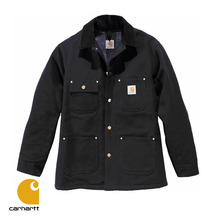 [Carhartt] CHORE COAT (BLACK)