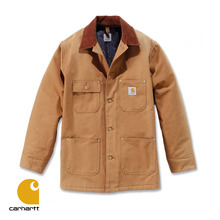 [Carhartt] CHORE COAT (CARHARTT BROWN)