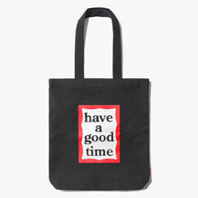 [Have a good time] FW17 Frame Tote Bag - Black