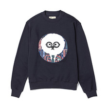 [BC by beyondcloset] DOCTOR DOG PATCH SWEAT-SHIRTS NAVY