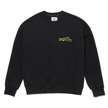 [BC by beyondcloset] NEW BASIC SMALL LOGO SWEAT-SHIRTS BLACK
