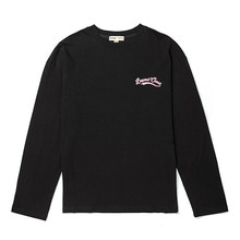 [BC by beyondcloset] NEW SMALL LOGO LONG SLEEVE T-SHIRTS BLACK
