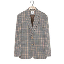 [9/20출고] [BC by beyondcloset] [COLLECTION LINE]CLASSIC CHECK JACKET BEIGE