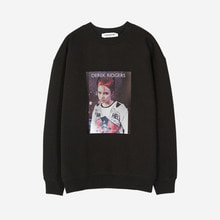 [Andersson bell]DEREK RIDGERS COLLABORATION SWEATSHIRT atb162u - BLACK