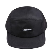 [BASEMOMENT] Logo Camp Cap - Black