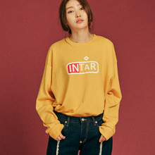 [INTAR]SweatShirts - Yellow