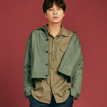 [INTAR]2ND Jacket - Khaki