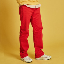 [INTAR]Heavy Twill Cotton Pants - Red