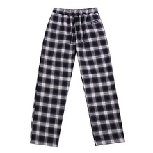 [BASEMOMENT] (20%할인) Flannel Check Pants - Navy
