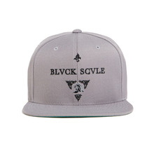 [BLACK SCALE] 30%할인 Blvck Knight Snap Back, Grey