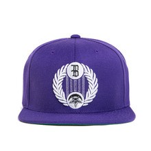 [BLACK SCALE] 30%할인 Star Crescent Snap Back, Purple