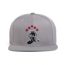 [BLACK SCALE] 30%할인 Knight Logo Snap Back, Grey
