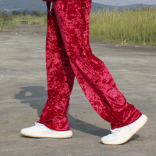 [SBTKOREA] High-end Society Velvet Pants - Red -