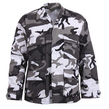 [Rothco] Rothco Color Camo BDU Shirt - City Camo