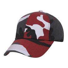[Rothco] Rothco Supreme Camo Low Profile Cap - Red