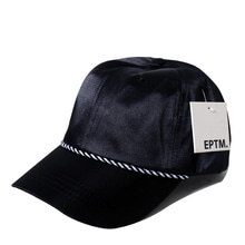 [EPTM] SATIN DAD CAP (BLACK)
