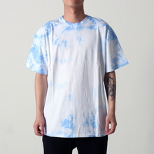 [EPTM] UNEVEN WASHED BOX TEE (BLUE)