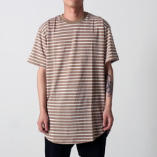 [EPTM] STRIPE 2.0 OG LONG TEE (TAN/WHITE)