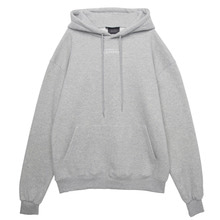 (50%SALE) [Black Hoody]Line Logo Temptation Grey