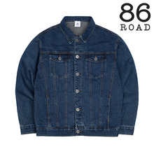 [86로드]2724 Washing denim jacket (Blue)