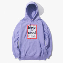 [Have a good time] FW17 Frame Pullover Hoodie - Lavender