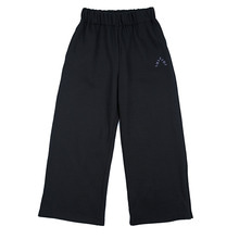 [AJOBYAJO]Wide Jersey Pants - Black