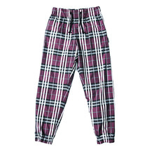 [9월 25일 예약배송][AJOBYAJO]Check Jogger Pants - Purple