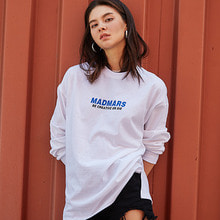 [2017FW발매 10%할인][매드마르스]LOGO LONG SLEEVE SHIRTS_WHITE