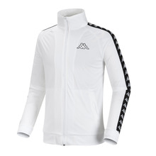 [Kappa] KIFT351MN Zip-Up - White