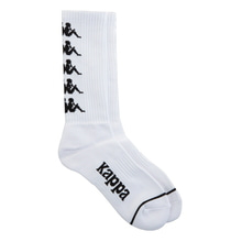 [Kappa] KISC355UN Socks - White