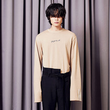 [A PAPER CUT] (10%할인) Over Sleeve Tee - Beige