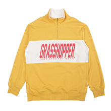 [GRASSHOPPER] Athletic Half Zip - Mustard