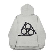 [FANATIK] 666 Logo Hoodie Grey