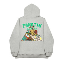 [FANATIK] Monster Mountin Hoodie Grey
