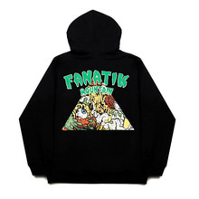 [FANATIK] Monster Mountin Hoodie Black