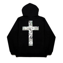 [FANATIK] Money Cross Hoodie Black