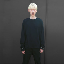 [10%할인][VERDAMT] Ring Sweatshirt - Black