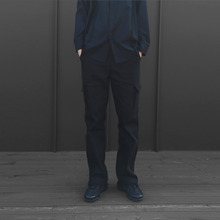 [10%할인][VERDAMT] Raw Cut Pants - Black