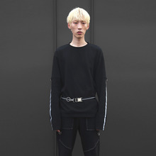 [10%할인][VERDAMT] VD Belt Vol.2 (Reflect Stripe) - Black