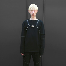 [10%할인][1월 22일 재입고 됩니다][VERDAMT] VD Harness Vol.2 (Reflect Stripe) - Black