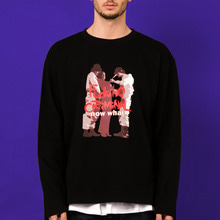 [nowwhat] FUCKING CRIMINAL Long Sleeve T (Black)