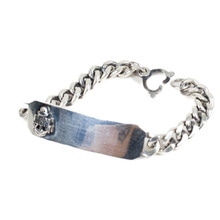 [AGINGCCC]#160 USN HHD ID BRACELET-SILVER