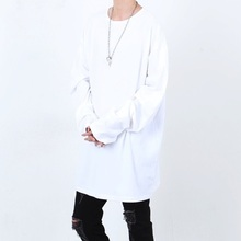 [Nar_Yoke] Super Overfit Rong Sleeve - White