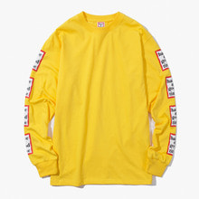 [Have a good time] FW17 Arm Frame L/S Tee - Mustard