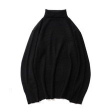 [11%할인] [파르티멘토]APS Pola Neck Knit Black