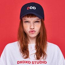 [DxDxD Studio]DDD BALL CAP - NAVY
