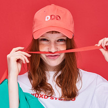 [DxDxD Studio]DDD BALL CAP - ORANGEPINK
