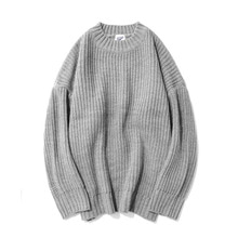 [12%할인] [파르티멘토]Over Crew Neck Knit Gray