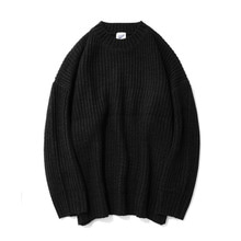 [12%할인] [파르티멘토]Over Crew Neck Knit Charcoal