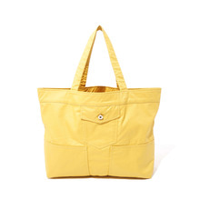 [10%할인] [파르티멘토]Coating Trucker Bag Yellow